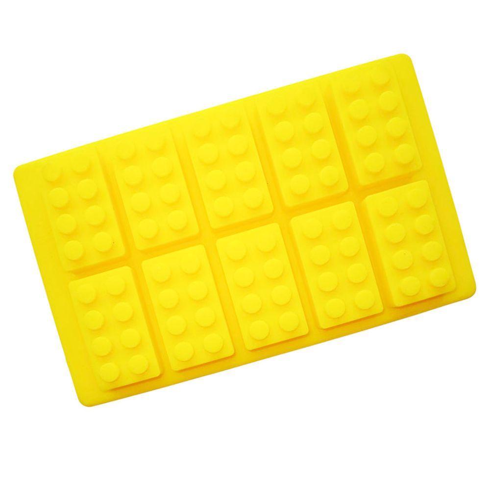 Lego Style Block Baking Chocolate Ice Making Shape