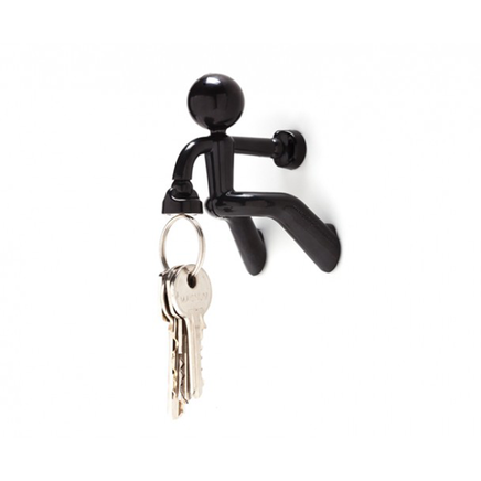 Magno-Man Magnetic Keyring Holder - Black