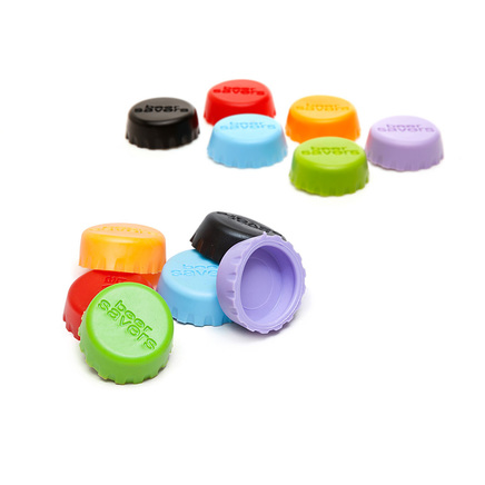 12 x Silicone Beer Savers Bottle Stoppers