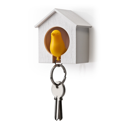 Bird-Home Key-Holder