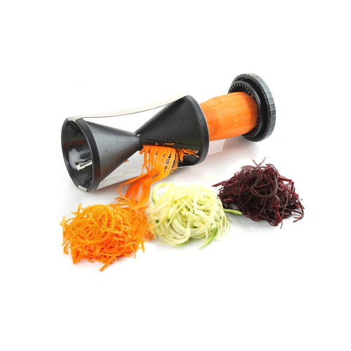 Spiral Slicer Veggetti Julienne Healthy Fresh Dish Spiralizer